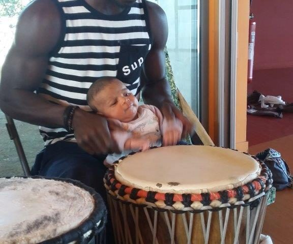 animation initiation percussion africaine enfant interactif aix en provence